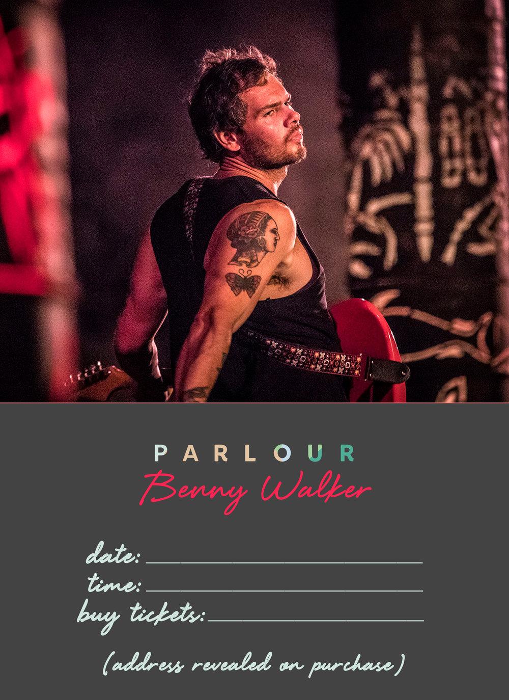 Benny Walker Poster