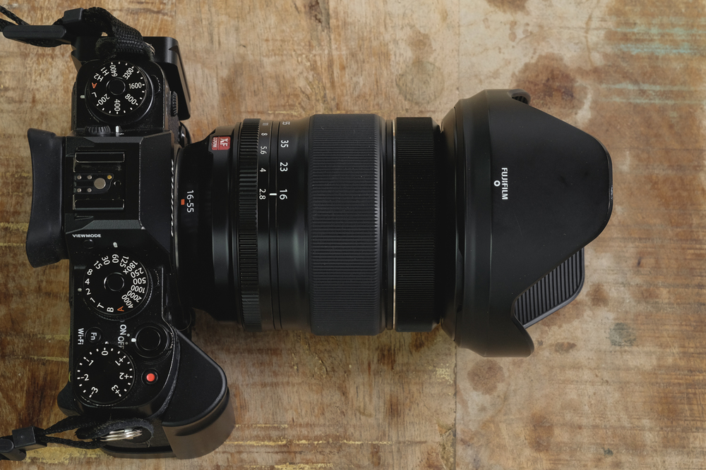 X-T1 with L Plate and XF 16-55mm f2.8 @16mm