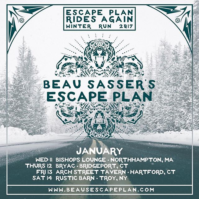 We're so excited to play some shows around the northeast this coming January! See you out there! #BSEP