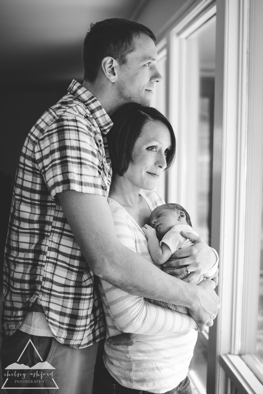 Lifestyle Newborn // Chelsey Ashford Photography 2015