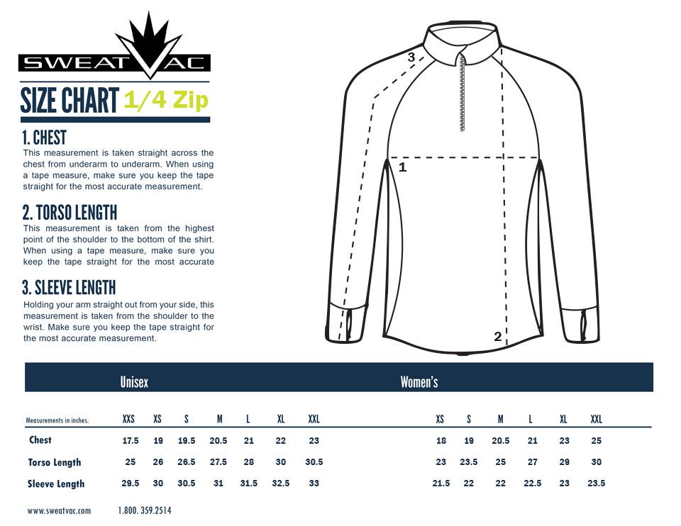 shirt size measurements chart: Shirt sizing for full half buffalo marathon