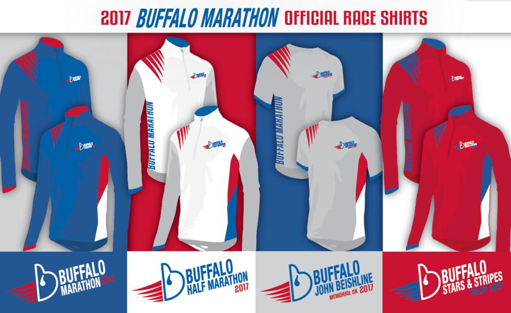 buffalo marathon race shirts