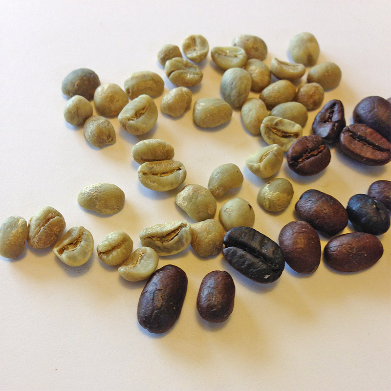 Mesquite Roasted Coffee is roasted to a Full City Roast level.