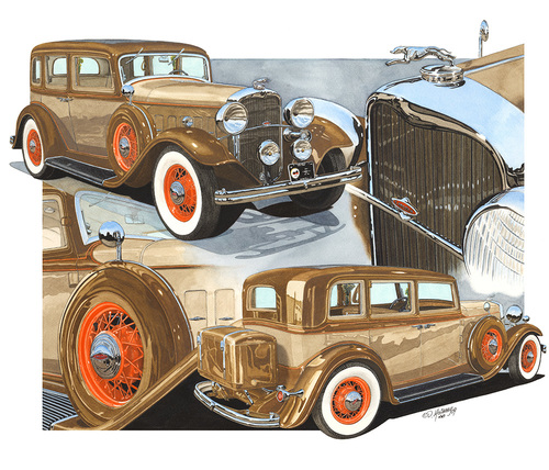 Dan McCrary Automotive Fine Artdmccraryart