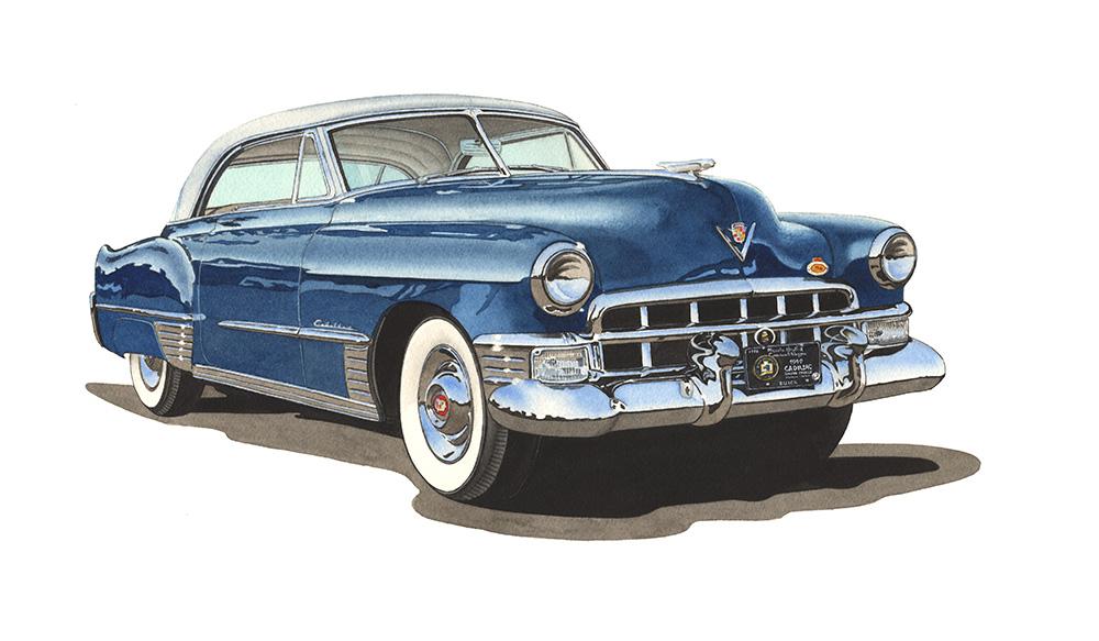 Hot Rods Classic Cars Prints