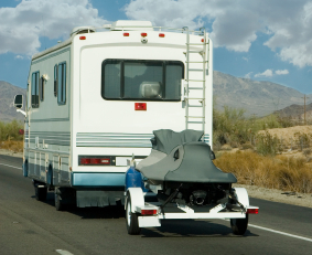 Recreational Vehicles.   Tour the country.