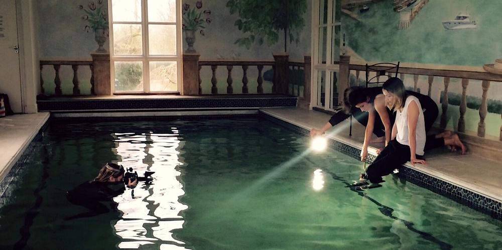Rogues Claudia Legge Underwater Shoot 1