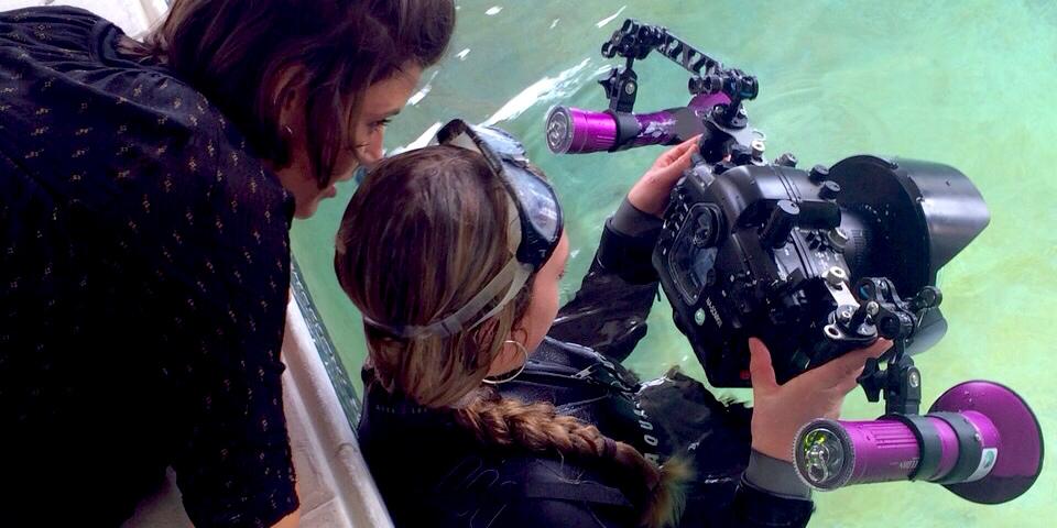 Rogues Claudia Legge Underwater Shoot 3