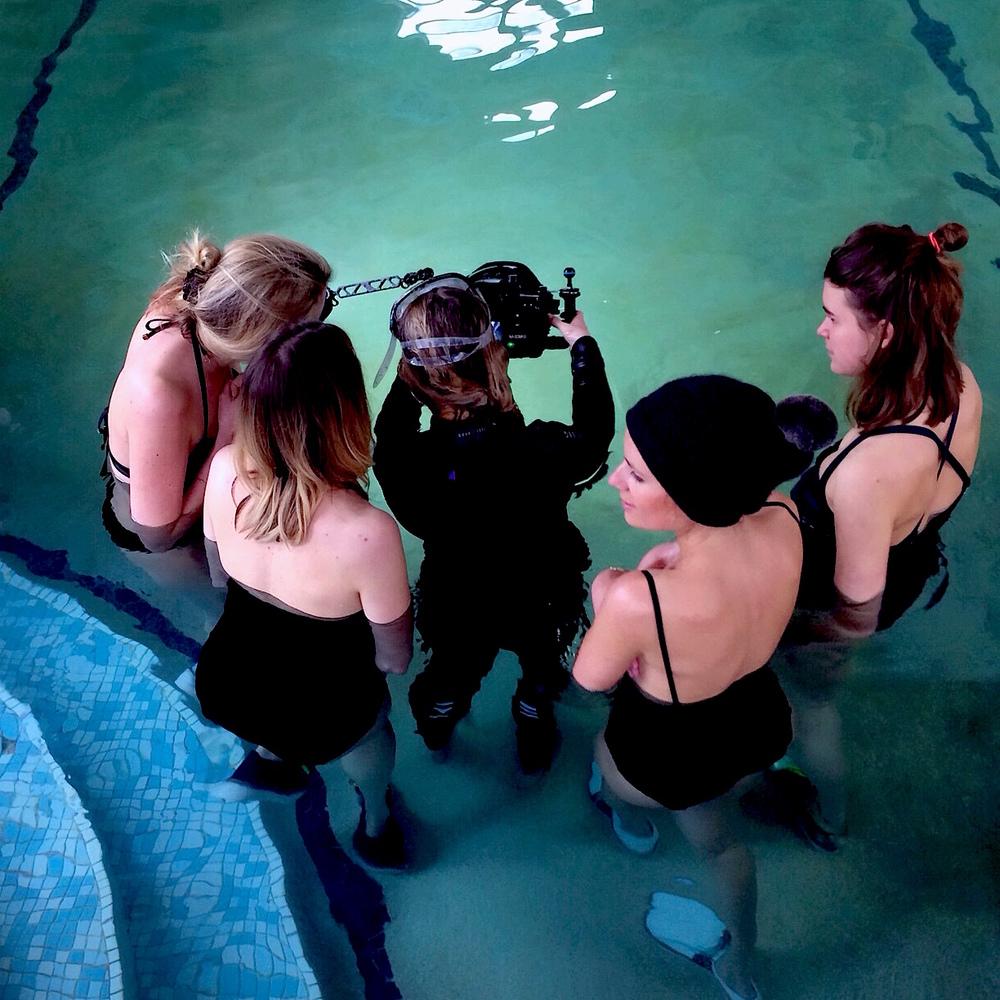 Rogues Claudia Legge Underwater Shoot 6
