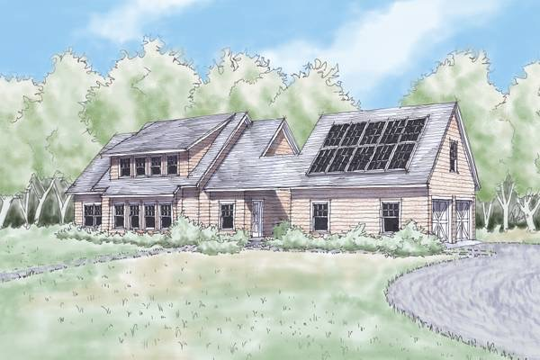 Recently Completed in November 2014 – Kelsey Brooks 1st Zero Net Energy Home. Designed and Built by Island Carpentry of Georgetown, ME this highly energy efficient home has an array of photovoltaic (PV) solar panels designed to generate enough electricity to offset the estimated annual use. The house has 4 bedrooms and 3 bathrooms…