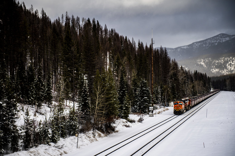 December 13, 2018, Essex, MT: Photos from my trip to Montana along Amtrak on Wednesday, December 13, 2018. (Photo by Matthew Thomas)
