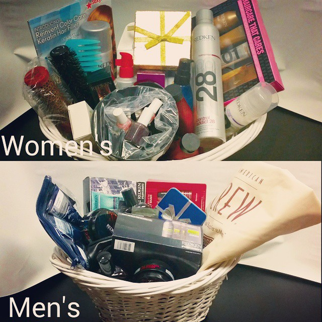 March Special Win A 275 Gift Basket Georges Hair Designs