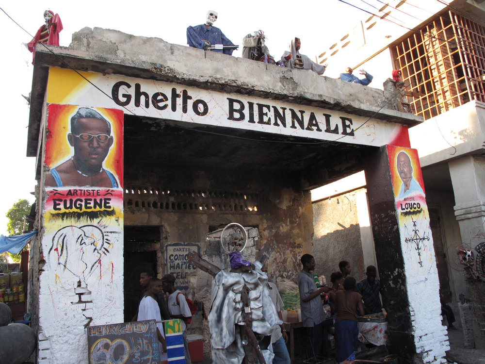Ghetto Biennale 2009. Image by  Chantal Regnault.