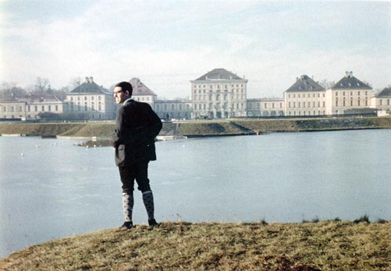 Searching for Nymphs at Nymphenburg