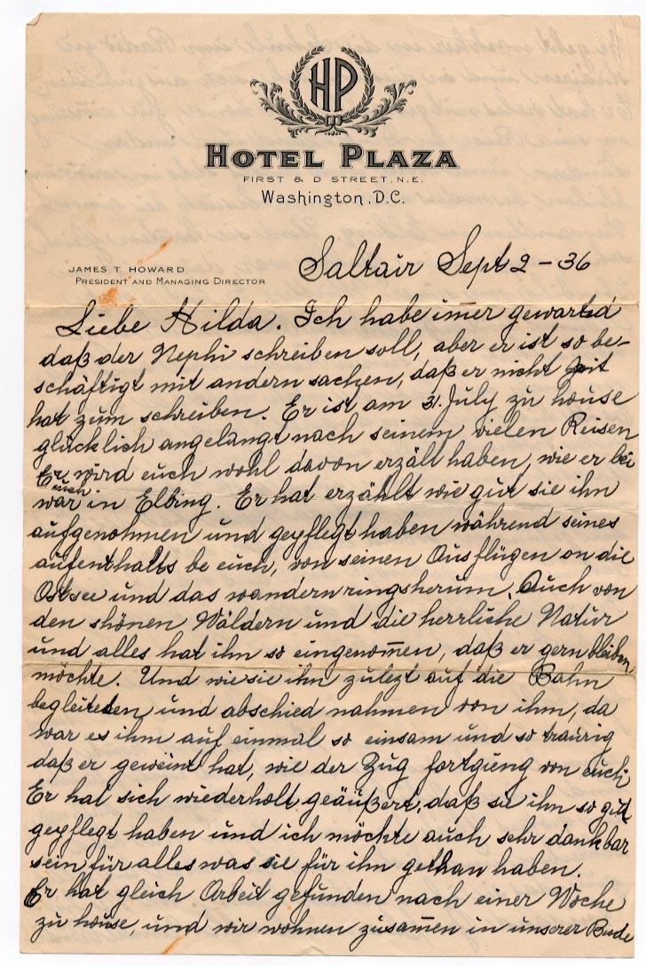 2 September 1936, p. 1