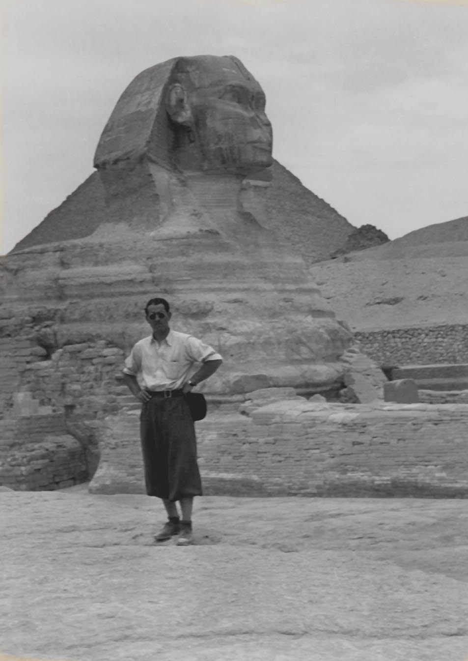 In 1936 he visited Egypt.