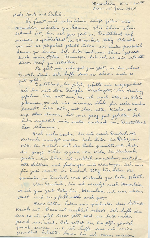 15 January 1934, p. 1