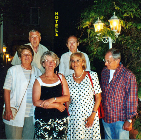 Partial Family Reunion in Vienna, November 2003