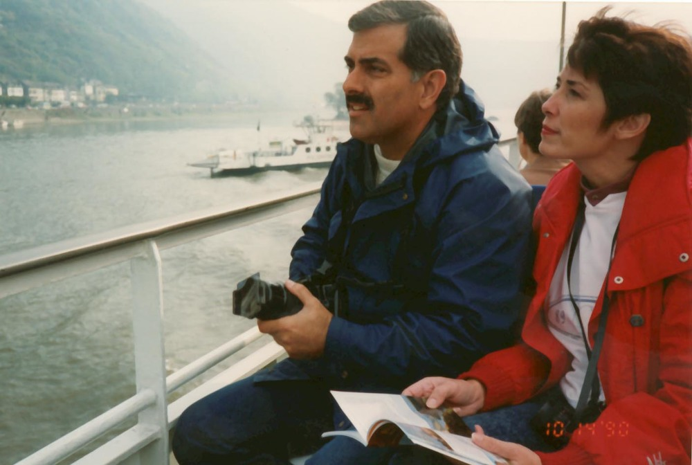 On the Rhine, 1990