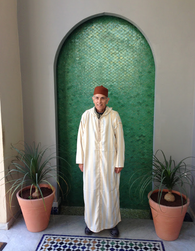 Wearing a Fez in Fez