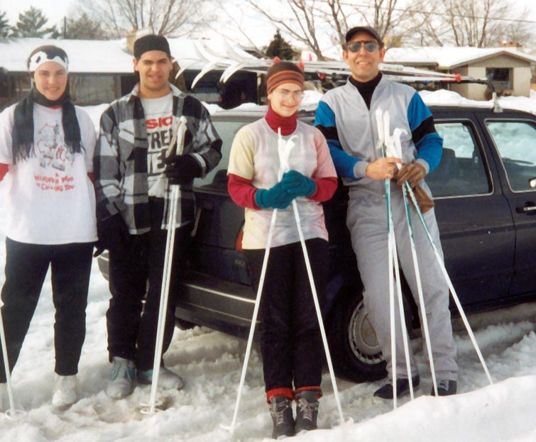 Cross-Country Skiing in Utah, Late 1990s