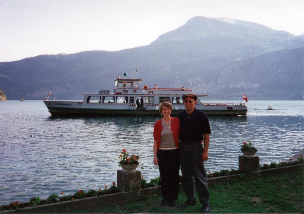 Wolfgangsee (Lake Wolfgang), Austria, 1995