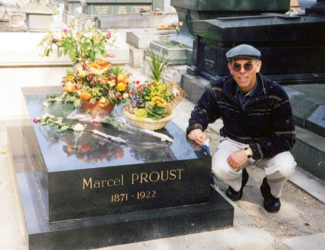 At the Grave of Marcel Proust, 1999