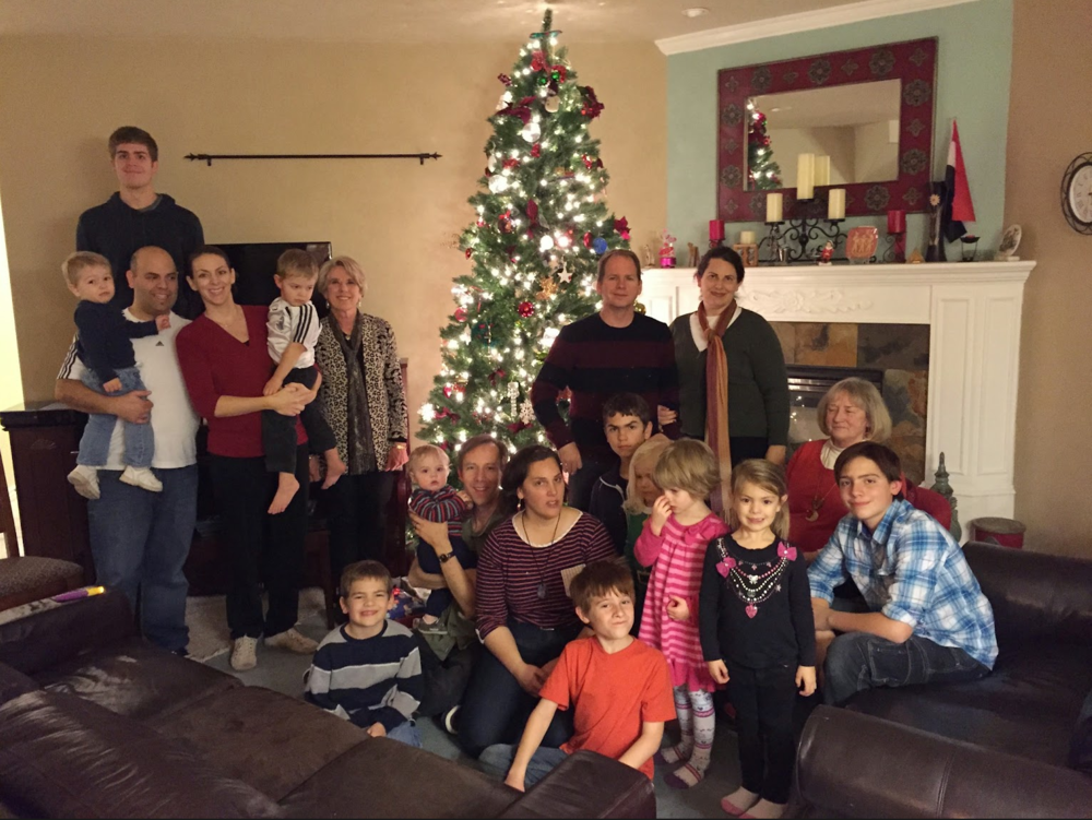 Hacken Family Christmas, 2014