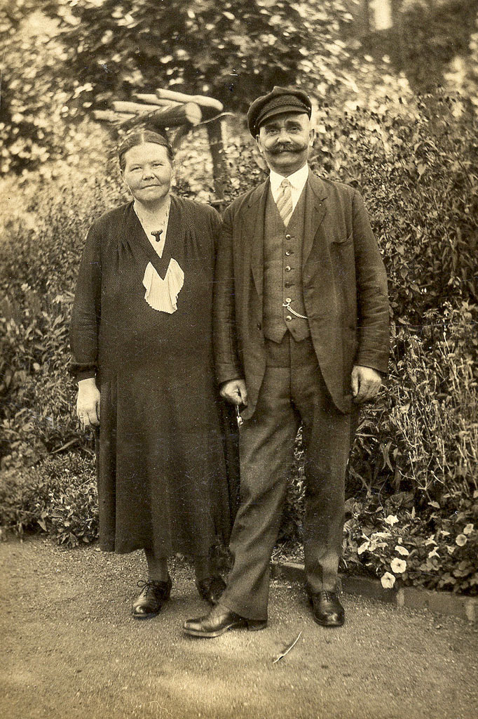 Wilhelm and Emma Galka, 1930