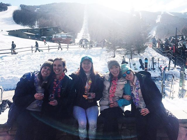 Lei-d's weekend with the best ❄️🍻⛷🌺☀️