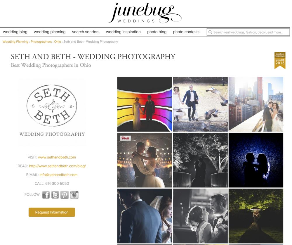 Seth and Beth Junebug Wedding