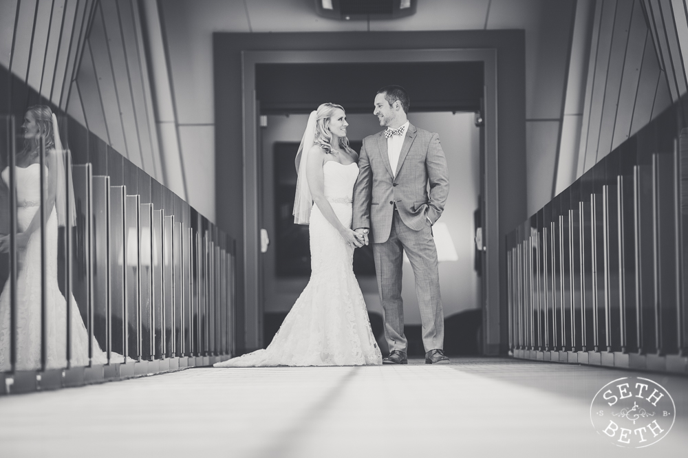 Weddings at The Hilton Columbus by Seth and Beth - Wedding Photographer Columbus, Ohio.
