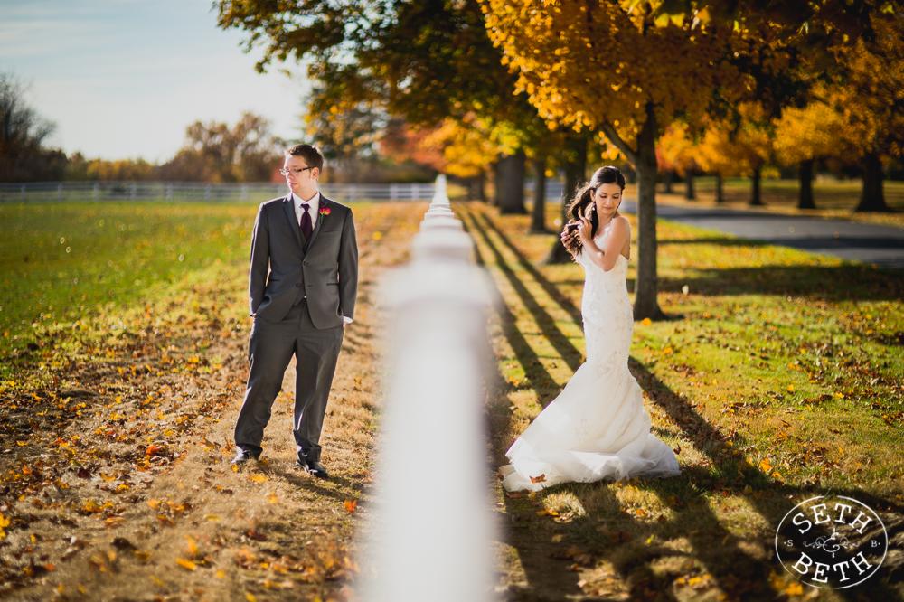 Seth and Beth - Wedding Photography Columbus Ohio Darby House