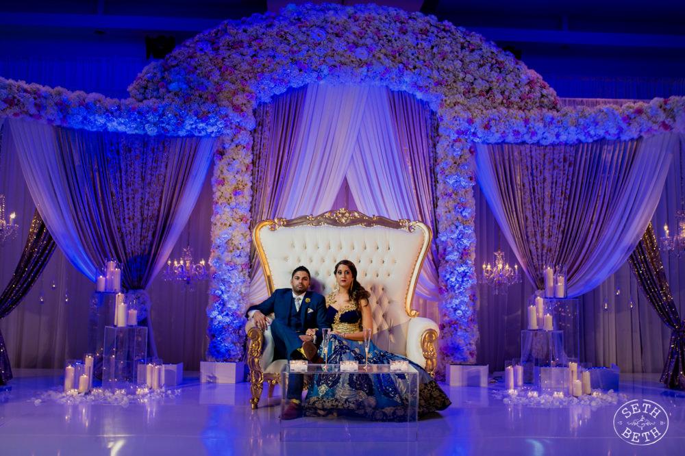 Indian Wedding Hilton Columbus by Seth and Beth