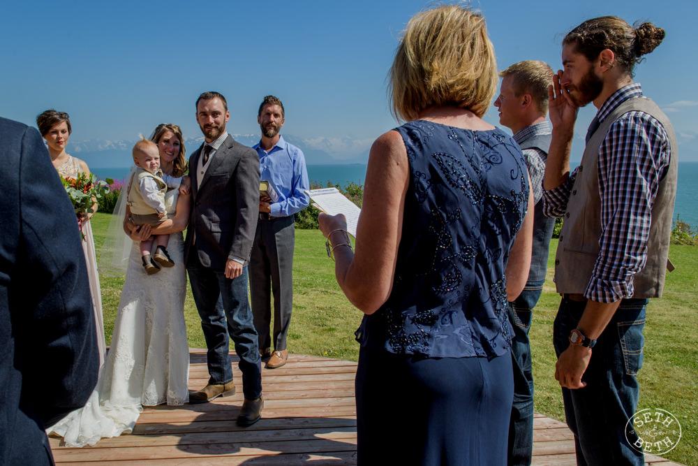 Alaska Destination Wedding Seth and Beth Wedding Photography Columbus Ohio