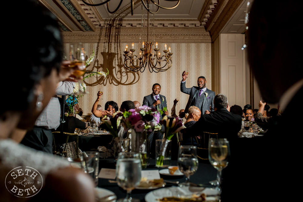 Seth and Beth Wedding Photography The Athletic Club of Columbus