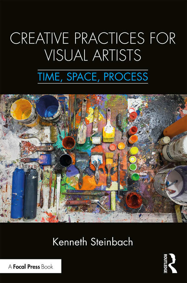 -  Based on interviews with a culturally, geographically, and aesthetically diverse group of 75 mid-career artists, Creative Practices For Visual Artists is a reassessment of the methods and approaches used by highly successful artists in their practices.The book offers concrete resources and solutions to the challenges created over the last fifteen years by the culture of assessment in K-12 education, the impact of digital media and culture, and the high costs of college education. Promoting a holistic approach to artistic practice, it discusses the role of focused and non-objective research, the benefits of reframing one's approach to studio time, forms of embodied research, open-ended experimentation, and the generative gifts of anxiety and failure. Steinbach has presented this research at corporate events, teacher workshops, and numerous colleges and universities. Contact him here for information about speaking to your group.Purchase the book here