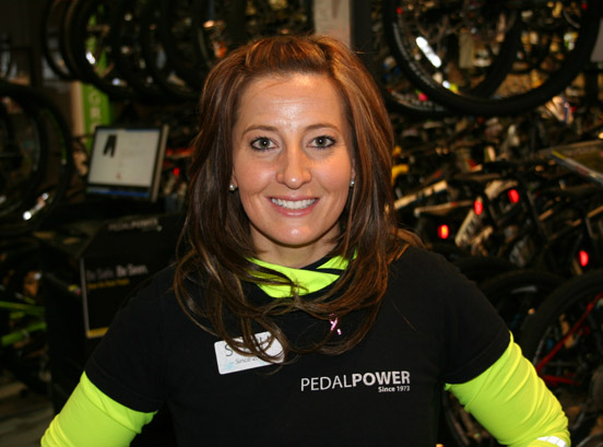 Stephanie Allen is F.I.S.T. and BikeFit certified. She will play host to one lucky lady for a weekend getaway in Lexington KY.