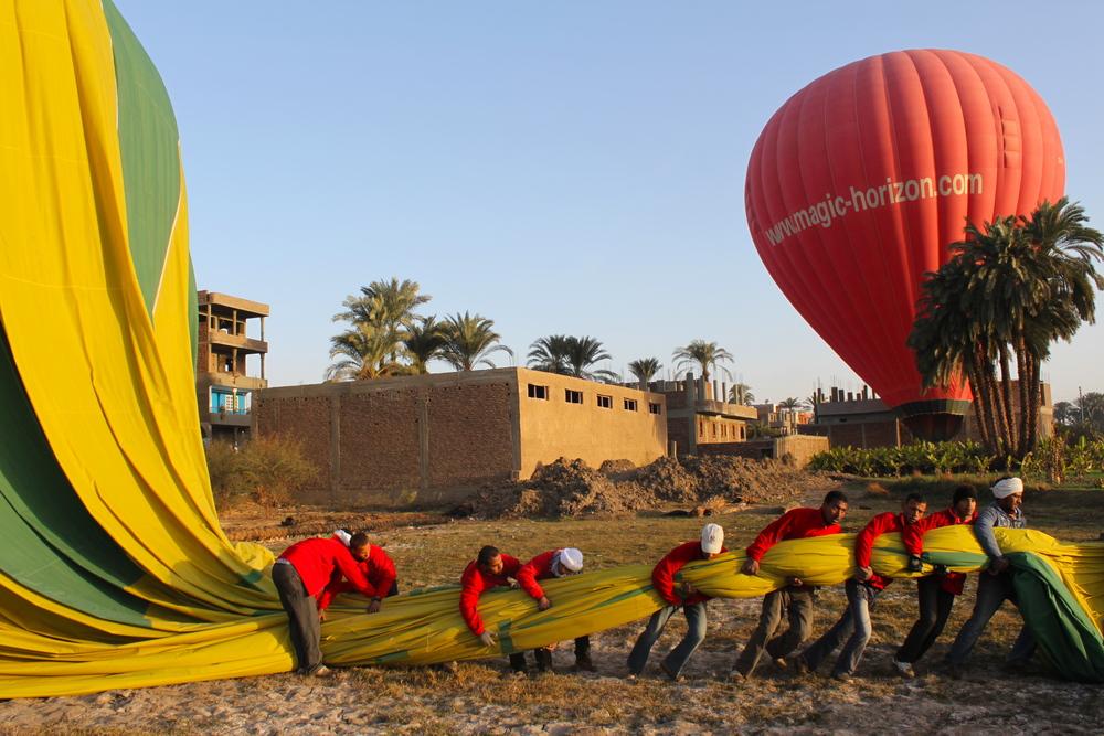 The Oompa Loompas of Luxor, Egypt.
