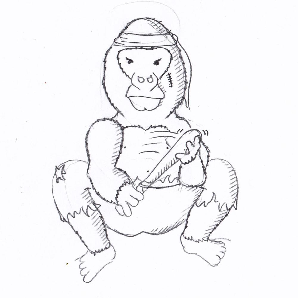 Rex the conservative Gorilla