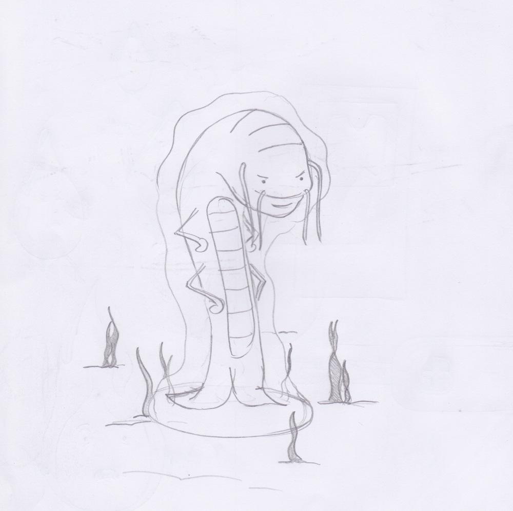 Tony the smug Plankton