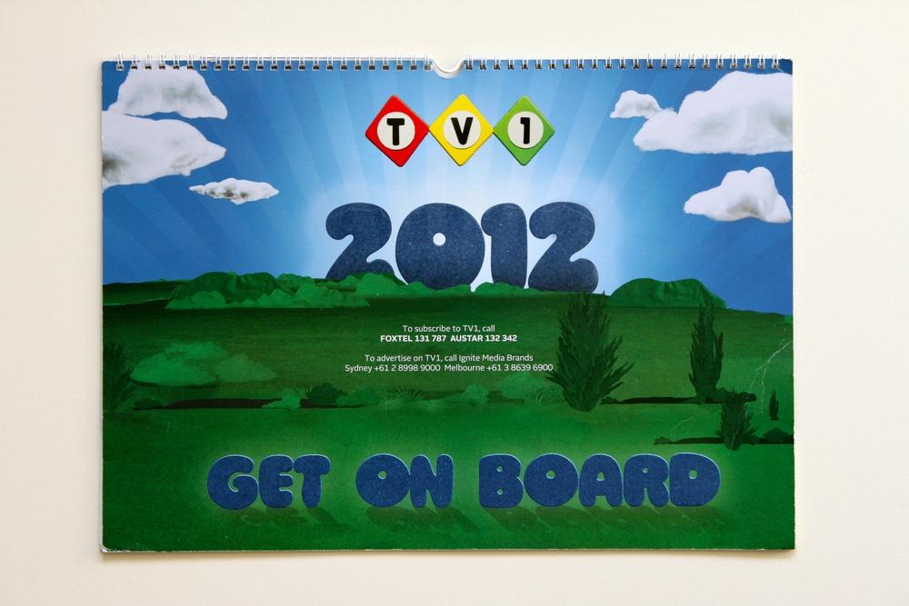 TV1's 2012 Calendar celebrating Get On Board TV Spot