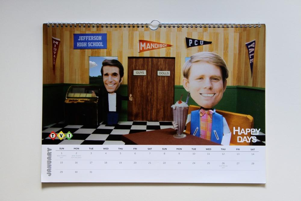 January: Happy Days