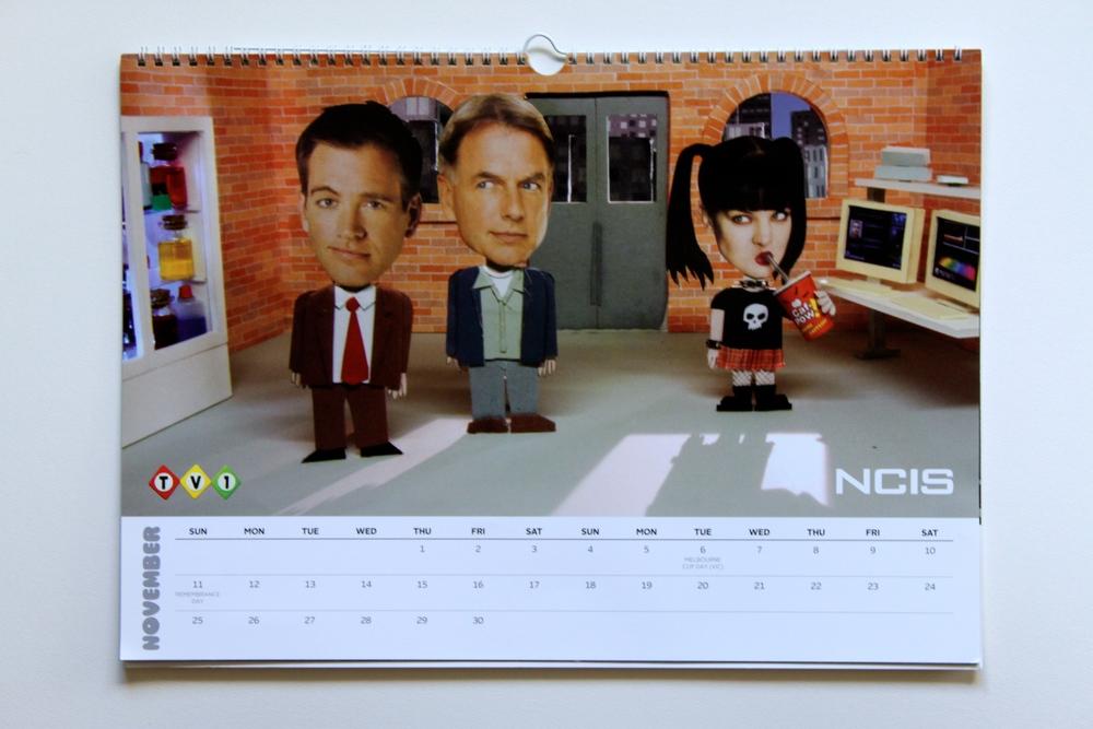 November: NCIS