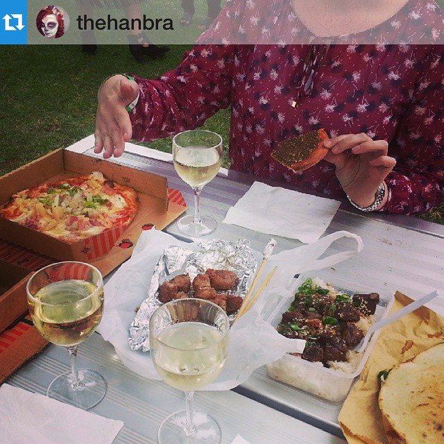 Lunch is served! 👒 📷: @thehanbra 