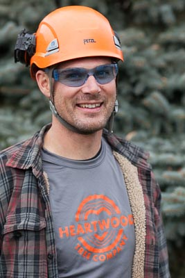 Arborist Tim Kuhn