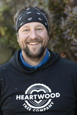 Arborist Jason Bartholomew