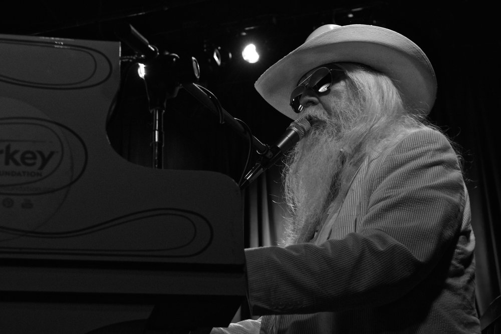 Leon Russell. Buster's, Lexington, KY. 2014.