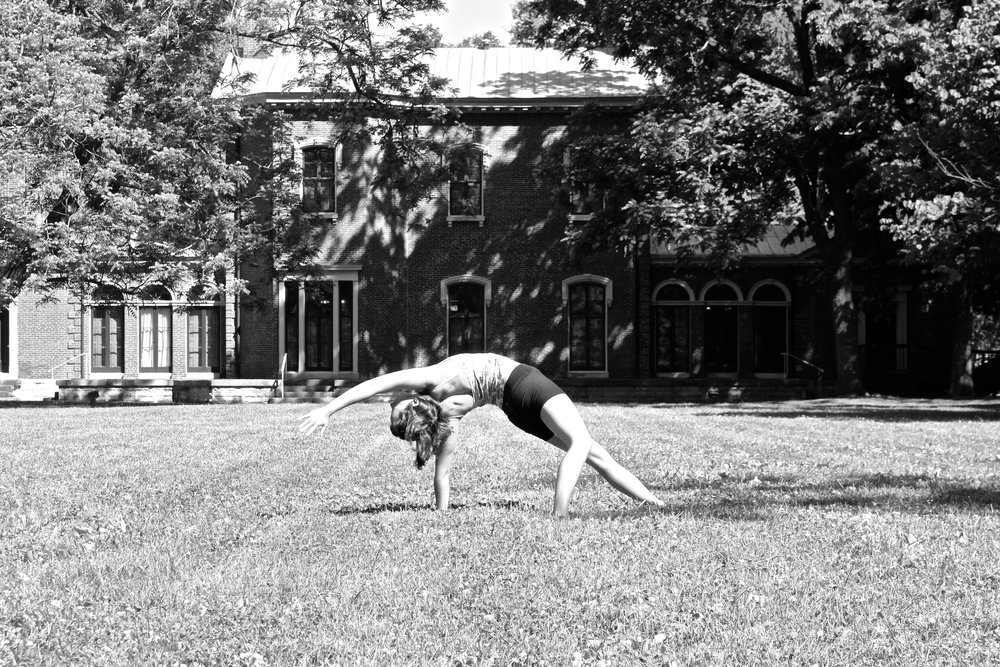 Yoga at Ashland, Henry Clay's Estate in Lexington, KY.