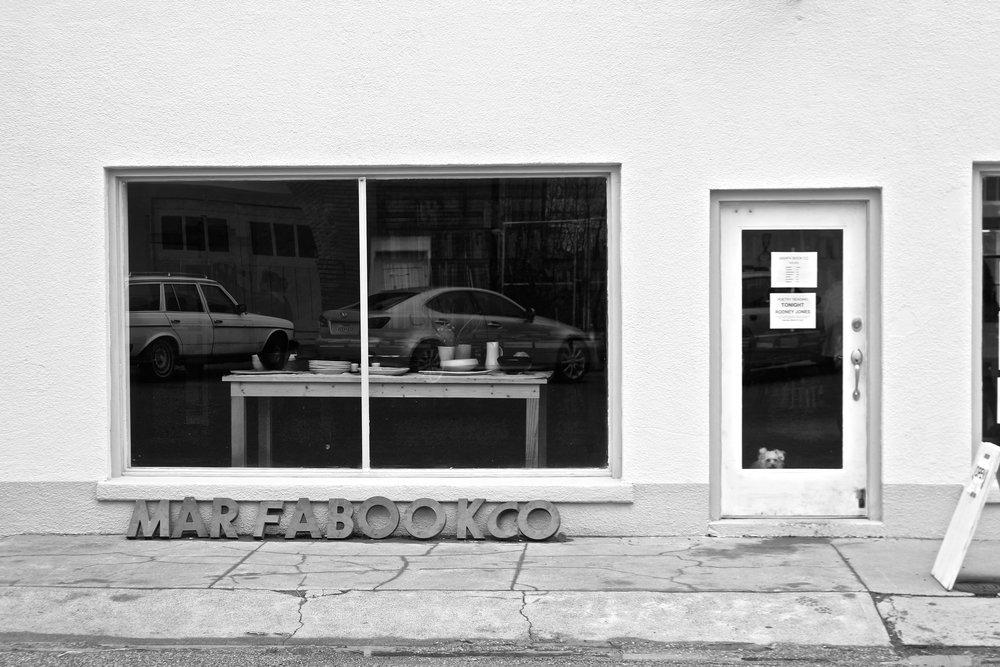Marfa Book Company, Marfa, Texas.